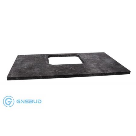 Antado Susanne Blat pod umywalkę Libra 95,2x46,8 cm z ekspozycji, grafit beton AS-B/3-140/95-73/668409-EKSPO
