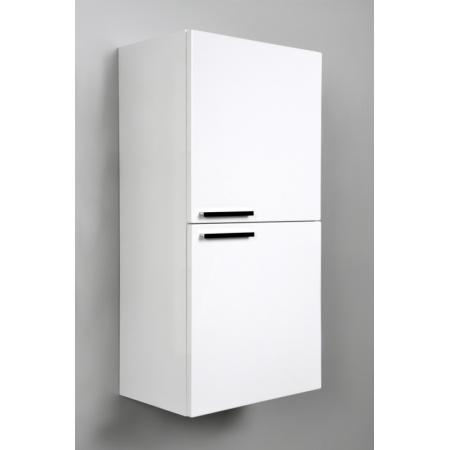 Antado Sycylia Regał niski 45x29,9x90 cm, biały połysk KTS-162-WS/662858