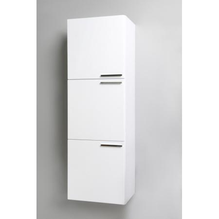 Antado Sycylia Regał wysoki 45x29,9x135 cm, biały połysk KTS-163-WS/662872