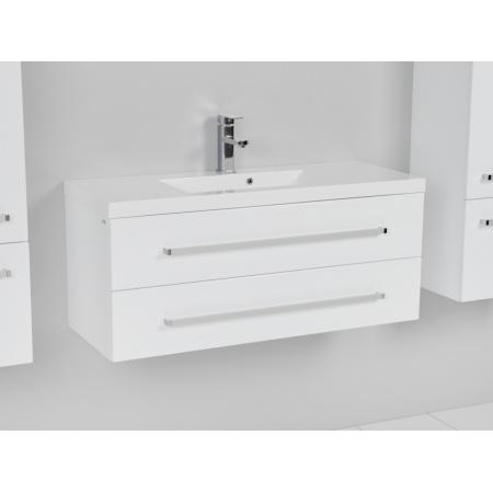 Antado Variete Szafka podumywalkowa 99,8 cm, biały połysk FM-C-442/10/2/640467