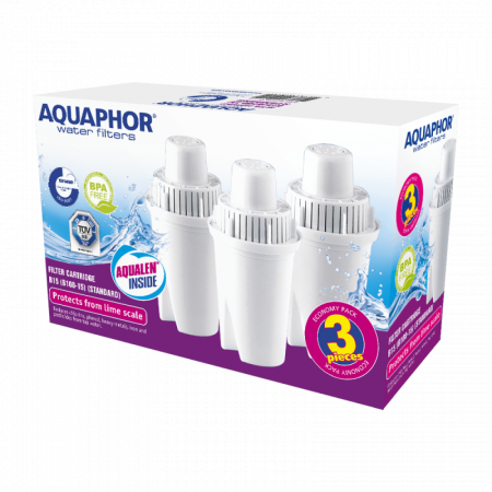 Aquaphor Wkład B100-15 Standard 3 sztuki 4744131010151