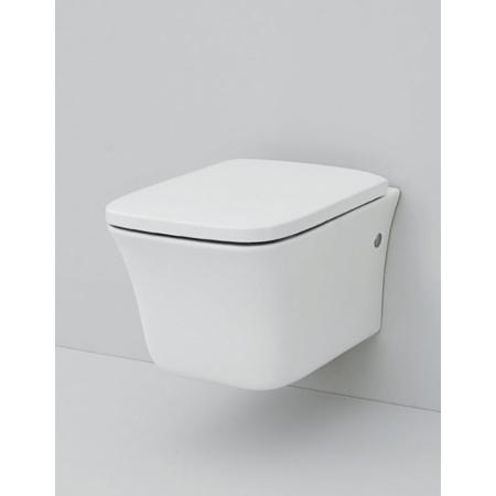 Art Ceram Cow Zestaw Muszla klozetowa miska WC podwieszana 52x38 cm z deską wolnoopadającą, biały CWV00101;00+CWA00201