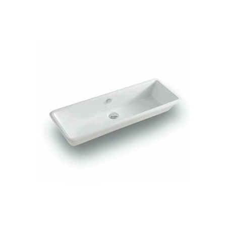 Art Ceram Gea 90 Umywalka podblatowa 90x33 cm, biała L120 / GEL00201;00