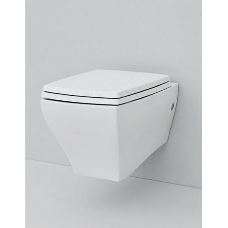 Art Ceram Jazz Zestaw Toaleta WC podwieszana 54x36 cm z deską sedesową wolnoopadającą, biały JZV00101;00+JZA00601;71