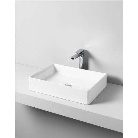 Art Ceram Scalino Umywalka nablatowa 55x38 cm, biała SCL002;01