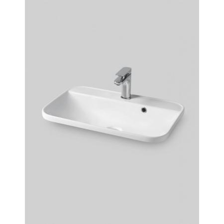 ArtCeram Gio Evolution Umywalka wpuszczana w blat 60x40 cm, biała GIL00701;00