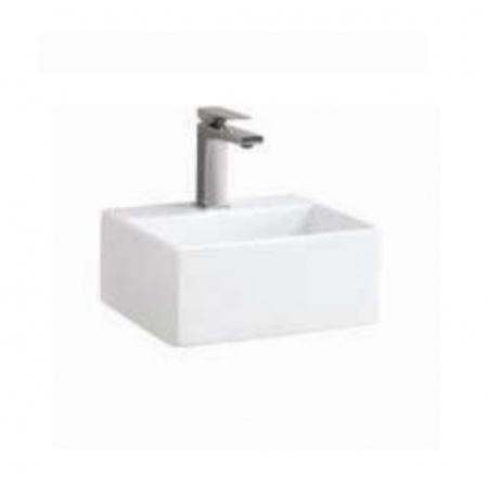 ArtCeram Quadro Mini Umywalka nablatowa 32x27 cm, biała QUL00601;00
