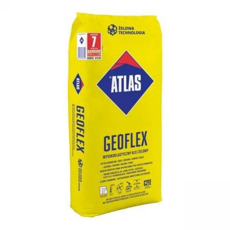 Atlas Geoflex Klej wysokoelastyczny żelowy 25 kg KA-ATLASGEOFLEX25