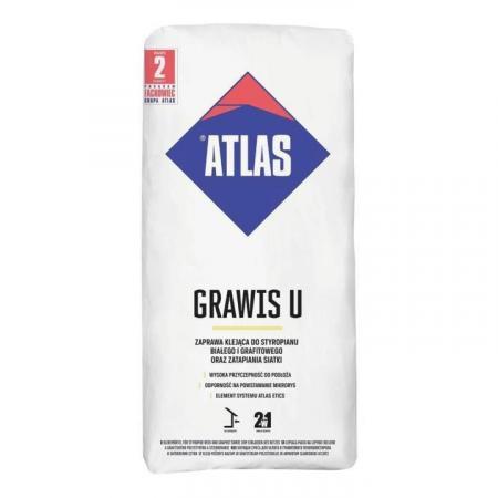 Atlas Grawis S Zaprawa klejąca do styropianu 25 kg KA-GRAWISS25KG