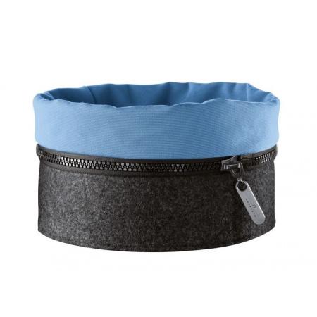 Auerhahn Zipp Koszyk filcowy 22,5x22,5x11 cm, niebieski 30012132(1)