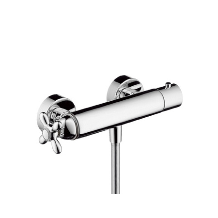 Axor Carlton Dwuuchwytowa bateria prysznicowa termostatyczna natynkowa, chrom 17261000