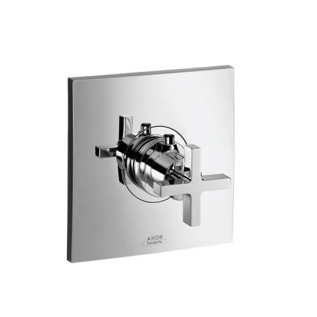 Axor Citterio High Flow Jednouchwytowa bateria wannowo-prysznicowa termostatyczna podtynkowa, chrom 39716000