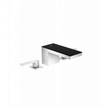 Axor MyEdition Bateria umywalkowa chrom/szkło czarne 47050600