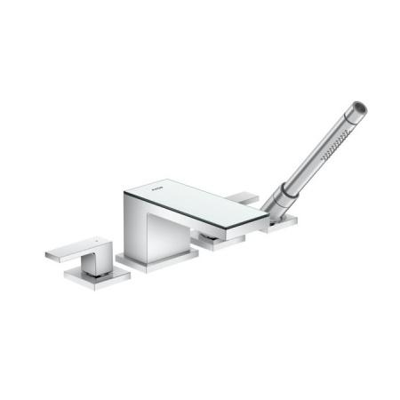 Axor MyEdition Dwuuchwytowa bateria wannowa 4-otworowa, chrom/szkło lustrzane 47430000