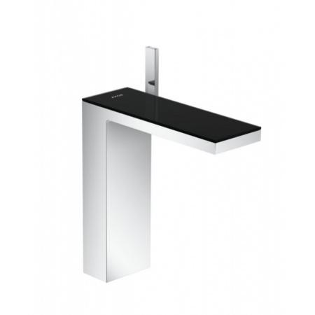 Axor MyEdition Bateria umywalkowa wysoka chrom/szkło czarne 47020600