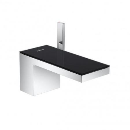 Axor MyEdition Bateria umywalkowa chrom/szkło czarne 47010600