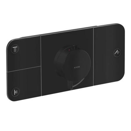 Axor One Bateria prysznicowa termostatyczna podtynkowa czarny mat 45713670