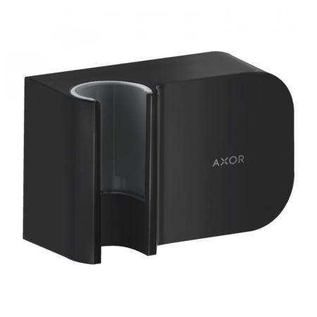 Axor One Porter Uchwyt prysznicowy czarny mat 45723670