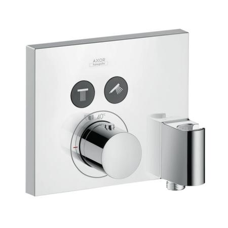 Axor ShowerSelect Square Bateria wannowo-prysznicowa podtynkowa termostatyczna chrom 36712000