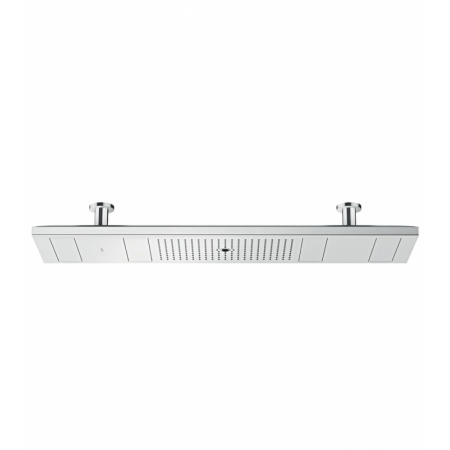 Axor ShowerSolutions Shower Heaven 1200/300 4 jet Deszczownica sufitowa 120x30 cm z oświetleniem 3700 K, chrom 10629000