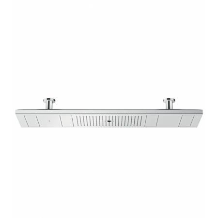 Axor ShowerSolutions Shower Heaven 1200/300 4 jet Deszczownica sufitowa 120x30 cm z oświetleniem 2700 K, chrom 10628000