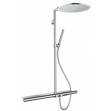 Axor ShowerSolutions Showerpipe 800 Zestaw prysznicowy, mosiądz polerowany 27984930