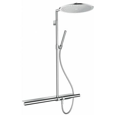 Axor ShowerSolutions Showerpipe 800 Zestaw prysznicowy, nikiel szczotkowany 27984820