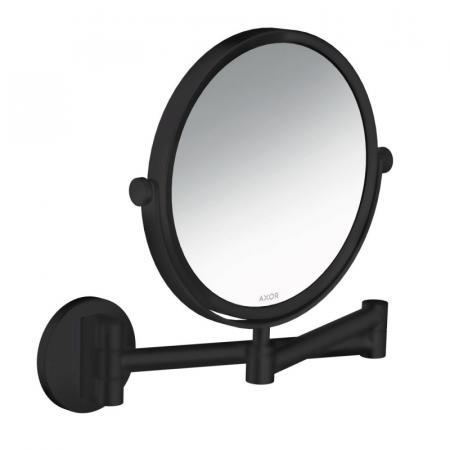 Axor Universal Circular Lustro kosmetyczne czarny mat 42849670