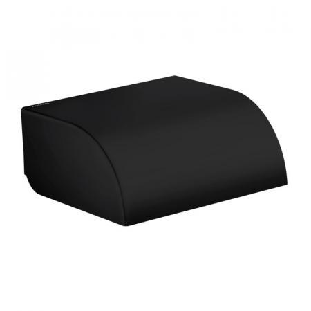 Axor Universal Circular Uchwyt na papier toaletowy czarny mat 42858670