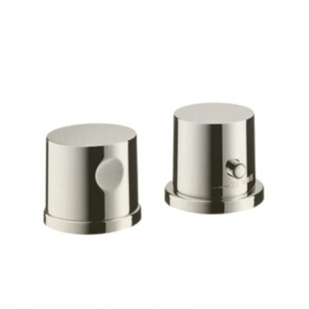 Axor Uno Element zewnętrzny do baterii termostatycznej 2-otworowej, nikiel szczotkowany 38480820