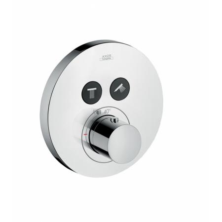 Axor Uno Bateria prysznicowa podtynkowa termostatyczna mosiądz polerowany 36723930