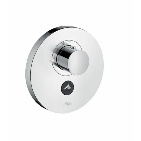 Axor Uno Jednouchwytowa bateria prysznicowa podtynkowa termostatyczna z dodatkowym wyjściem, nikiel szczotkowany 36726820