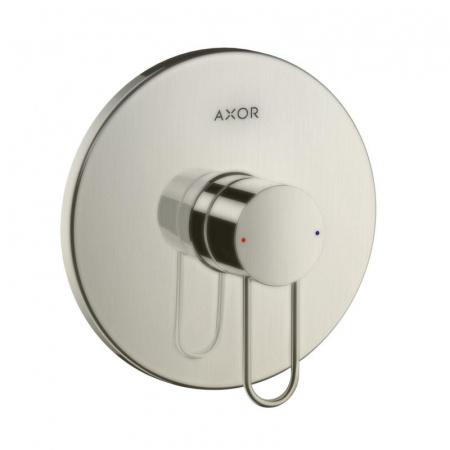 Axor Uno Loop Bateria prysznicowa podtynkowa nikiel szczotkowany 38626820