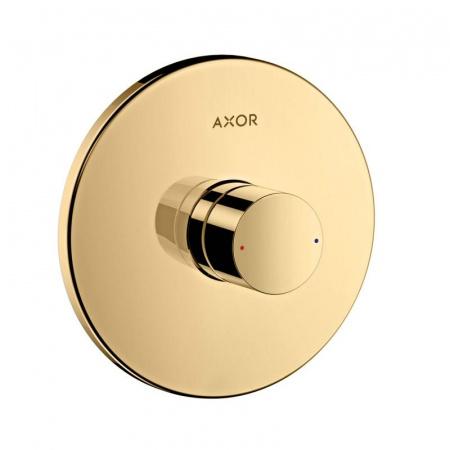 Axor Uno Jednouchwytowa bateria prysznicowa podtynkowa z uchwytem Zero, mosiądz polerowany 45605930