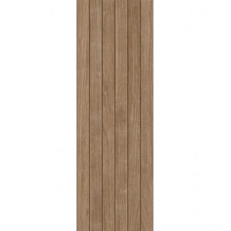 Azulejos Benadresa Cambara Płytka ścienna 33,3x100 cm, brąz ABCAMBARAPS333100BRA