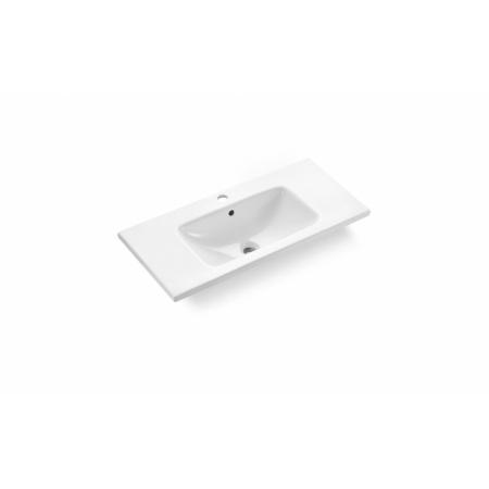 Bathco California Umywalka wpuszczana w blat 80x39x15 cm, biała 4030