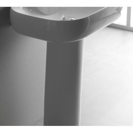 Bathco Lake Postument do umywalki, biała 4027/P