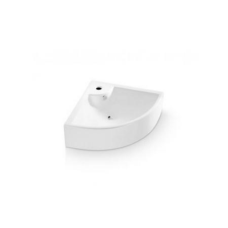Bathco Oporto Umywalka narożna 64,5x47x16 cm, biała 0043