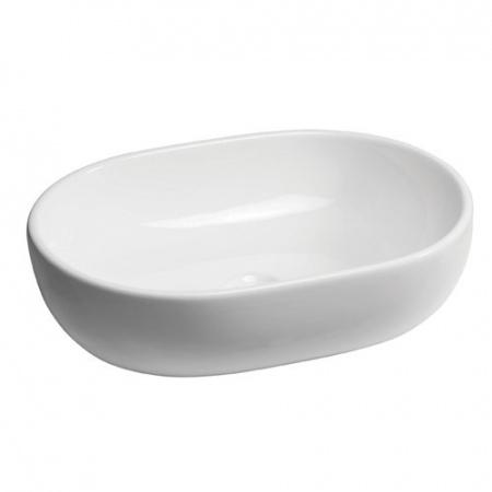Bathco Toulouse Umywalka nablatowa 59x41,5x14,5 cm, biała 4037