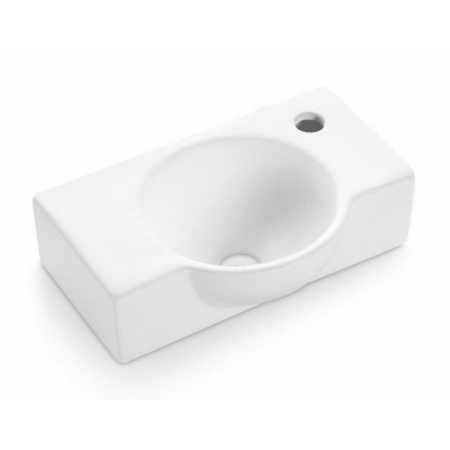 Bathco Venecia Umywalka wisząca 40x26x11 cm, biała 4052