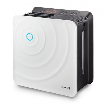 Clean Air Optima Oczyszczacz z nawilżaczem powietrza, biały/czarny CA-803