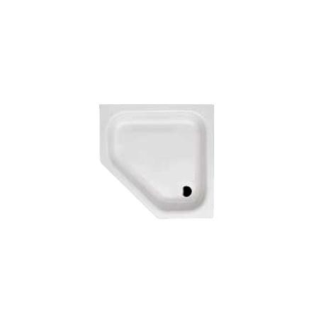 Bette Caro Brodzik pięciokątny 100x100 cm z powłoką BetteGlaze Plus biały 7219-000PLUS