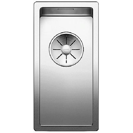 Blanco Claron 180-IF Zlewozmywak stalowy jednokomorowy 22x44 cm bez korka automatycznego, stalowy 521564