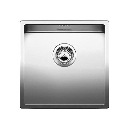 Blanco Claron 400-IF Zlewozmywak stalowy jednokomorowy 44x44 cm bez korka automatycznego, stalowy 521572