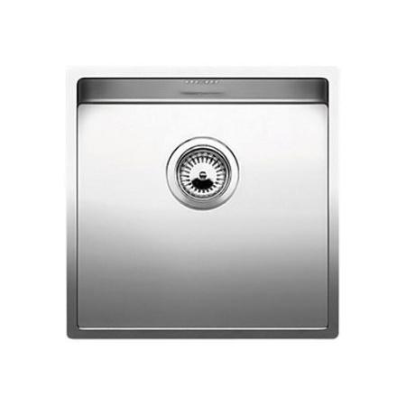 Blanco Claron 400-U Zlewozmywak stalowy jednokomorowy 44x44 cm bez korka automatycznego stalowy 521573