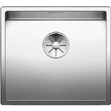 Blanco Claron 450-IF Zlewozmywak stalowy jednokomorowy 49x44 cm bez korka automatycznego, stalowy 521574