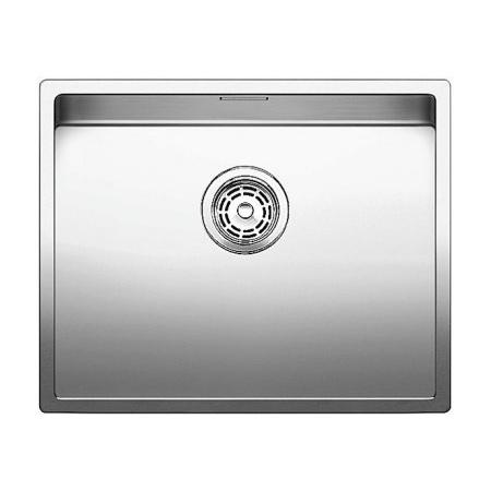 Blanco Claron 500-U Zlewozmywak stalowy jednokomorowy 54x44 cm bez korka automatycznego stalowy 521577