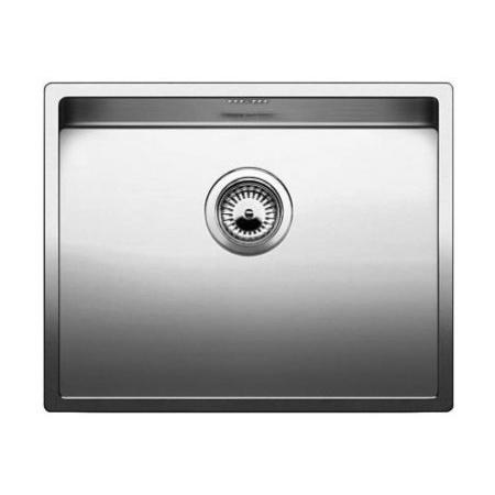Blanco Claron 550-IF Zlewozmywak stalowy jednokomorowy 59x44 cm bez korka automatycznego, stalowy 521578