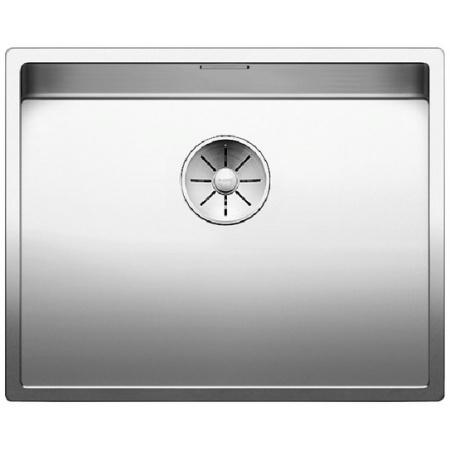 Blanco Claron XL 60-IF Steamer Systemplus Zlewozmywak stalowy jednokomorowy 57x46 cm bez korka automatycznego, stalowy 521595