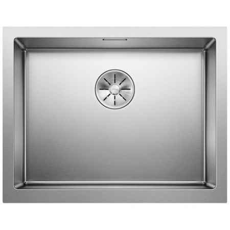 Blanco Cronos XL 6 IF Zlewozmywak stalowy jednokomorowy 59,5x46,8 cm z korkiem InFino stalowy 525025